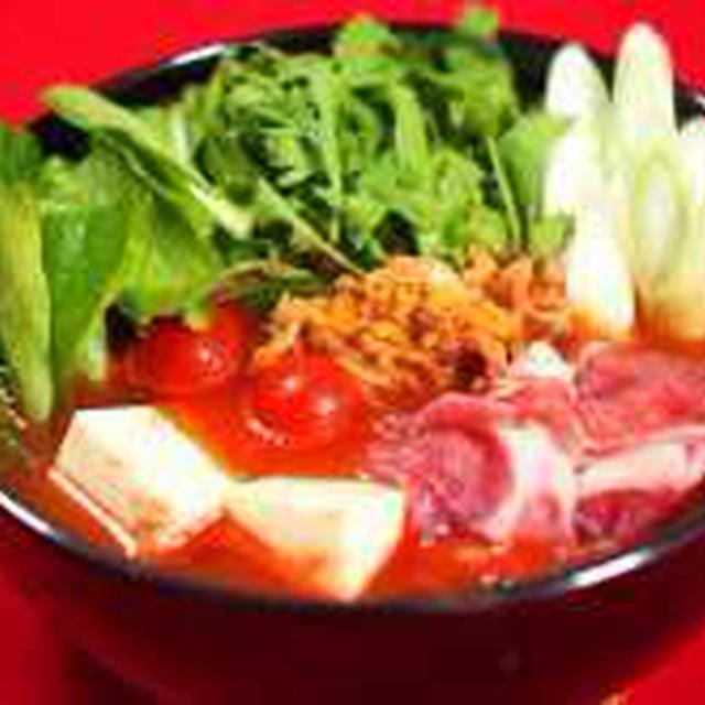 Wトマトキムチ鍋