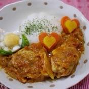 スパイスで作るトマトカレー