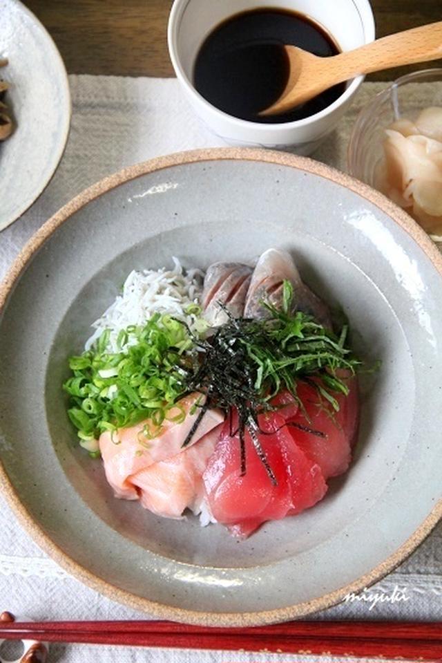 5. しらす入り海鮮丼