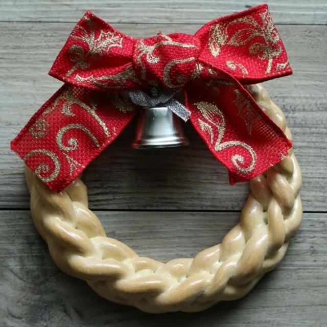 クリスマスパンリース