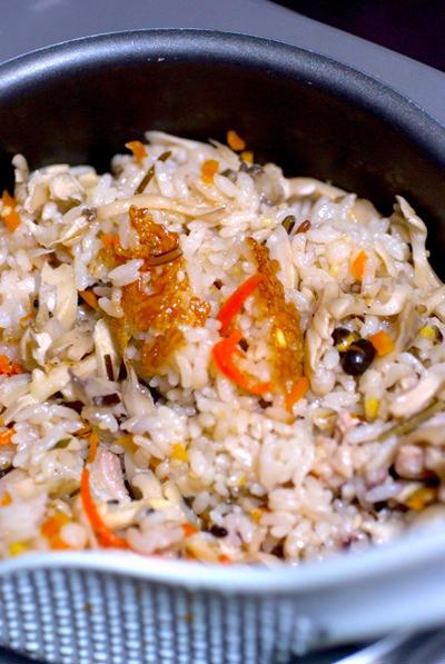 楽チン♪炊き込みご飯☆具材も一緒に炊いちゃいます♪レシピ付き