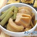 料理日記 141 / ふきとたけのこの酢醤油煮