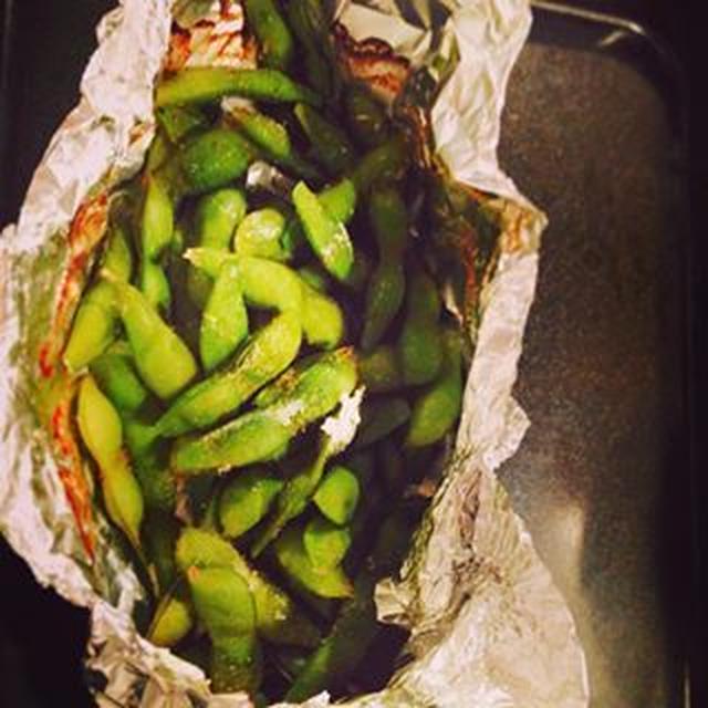 おじさんが作る、ほんとにおいしい枝豆☆☆☆