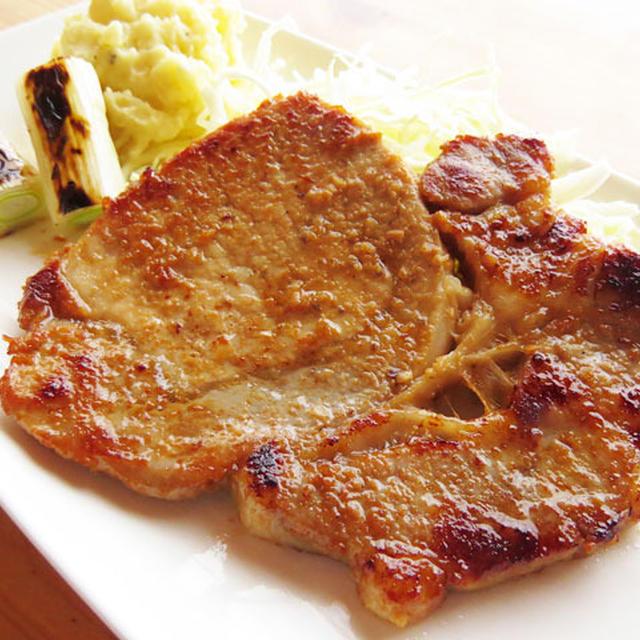 ご飯がすすむ、豚肉の味噌漬け♪