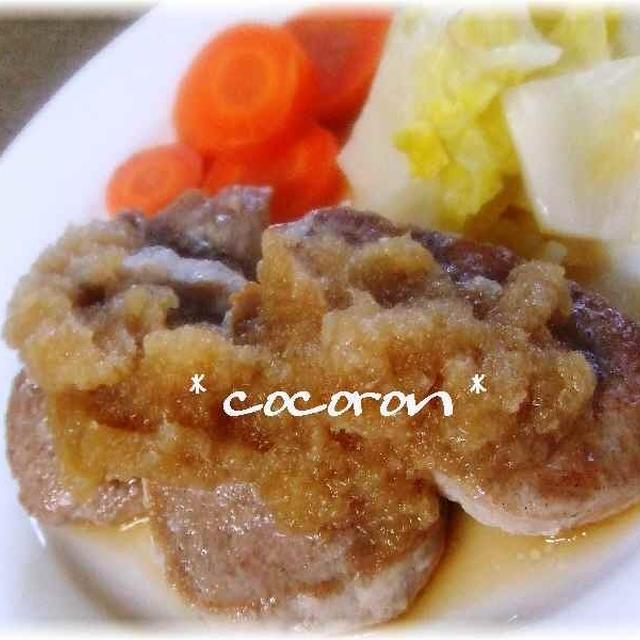 ヒレステーキ★ジャポソース&コンビーフポテサラ