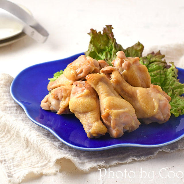 漬け込んだらオーブンまかせ 鶏手羽元のロースト