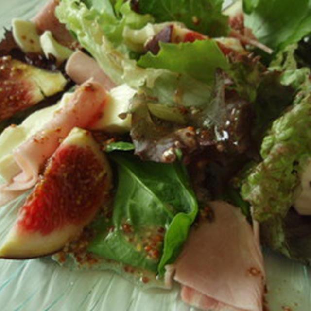 秋の味覚イチジクを使った、おもてなしにピッタリなフレンチサラダ