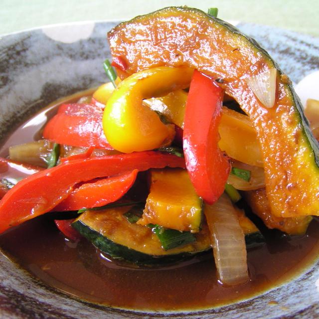 焼き野菜の南蛮漬け