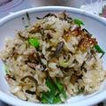 ツナと塩コンブの炊き込みご飯&お刺身 by aoitoriさん