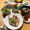 【豚もも肉のはちみつ生姜煮】#かたまり肉#煮豚#フライパンひとつ#簡単#作り置き#冷凍保存