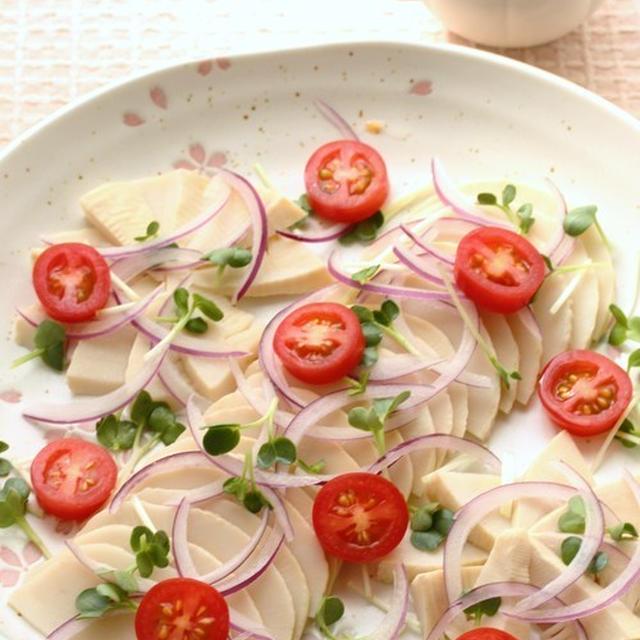 筍の彩(いろどり)サラダ