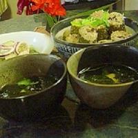 スパイス☆キメて台湾中華☆ゴーヤの肉詰めno献立【3品】