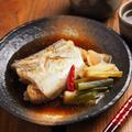 子持ち太刀魚の煮付け、煮魚は鍋の大きさが大事です。