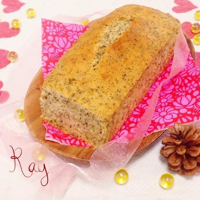 良い香り♡簡単♡紅茶のパウンドケーキ♡