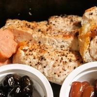 鶏胸肉のスパイス焼き