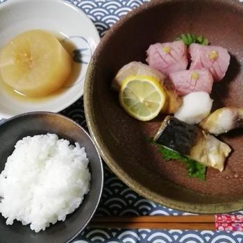 ピヨコ被りさん!ゴロゴロサバークラブ会員入会!シンプルな鯖料理希望に・・塩焼きダイナマイト!