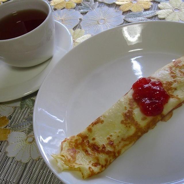 夏休みのおやつにいかが?フィンランドのママの味 パンヌカック(クレープタイプ)