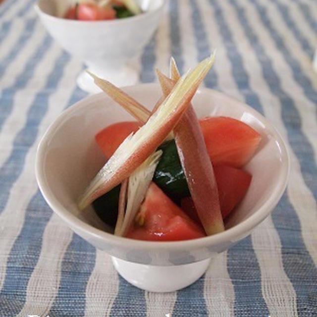 一人ご飯 きゅうりとトマトのあっさり漬け