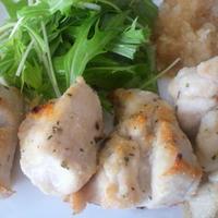 スダチ鶏むね肉の米粉グリルみぞれ添え ハウス香りソルト<イタリアンハーブミックス>