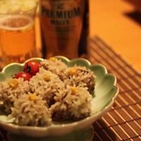 プレモルにあう~♪紅白で年末にピッタリ❤もち米シュウマイ&雑穀シュウマイ