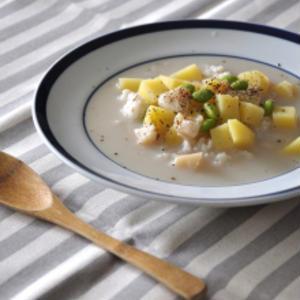 朝ごはんにも夜食にも!これ1杯でOKのスープご飯レシピ