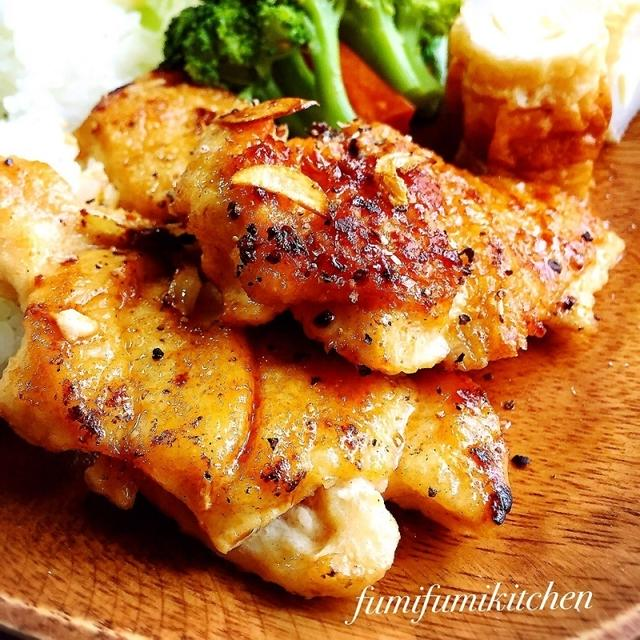 安い!15分で!絶品鶏胸肉ポン酢ソテー