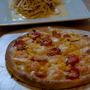 ひさびさピザとパスタ