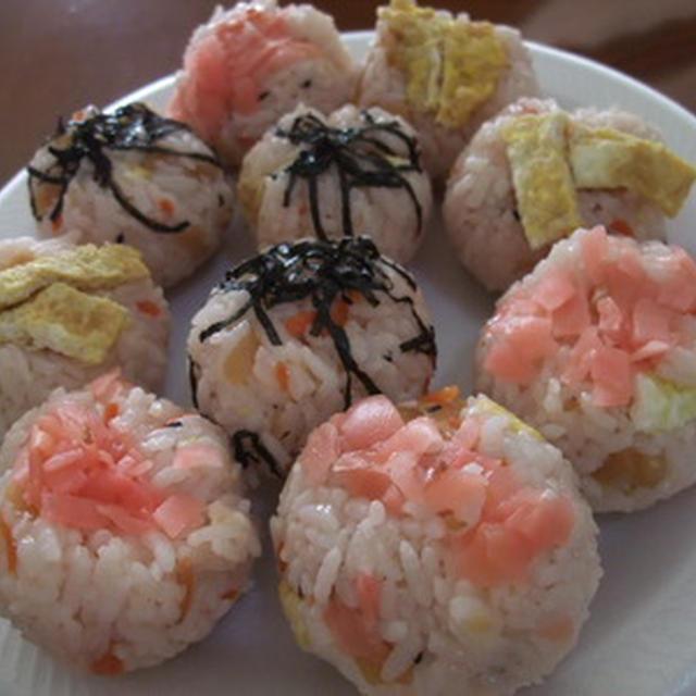 おうちパーティー用♪ 五目てまり寿司