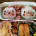 なーちんの夏休みワクワクキャラ弁当!