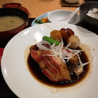 金目鯛の煮付けを食べました♪