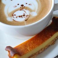 深煎りコーヒーにぴったり!コンテ入り濃厚チーズケーキ