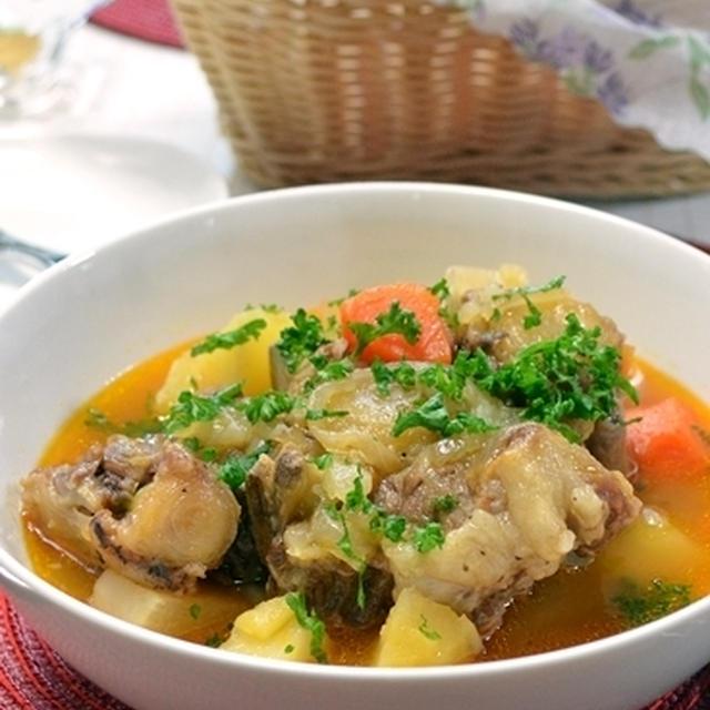 改訂版レシピ!オックステールスープ