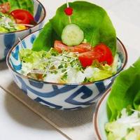 香るオリーブ🎵 混ぜご飯サラダ