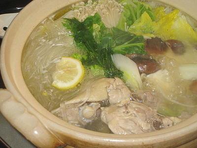 博多風の「水炊き」