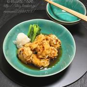 《レシピ》豆腐団子のおろし餡。~寒いし、腰は痛いし、餡だし~