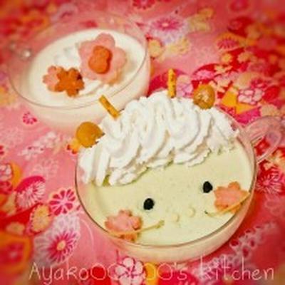 【卵白救済♪ふわふわバニラ・抹茶ムース&材料2つの離乳食用豆乳プリン(追記w)*】