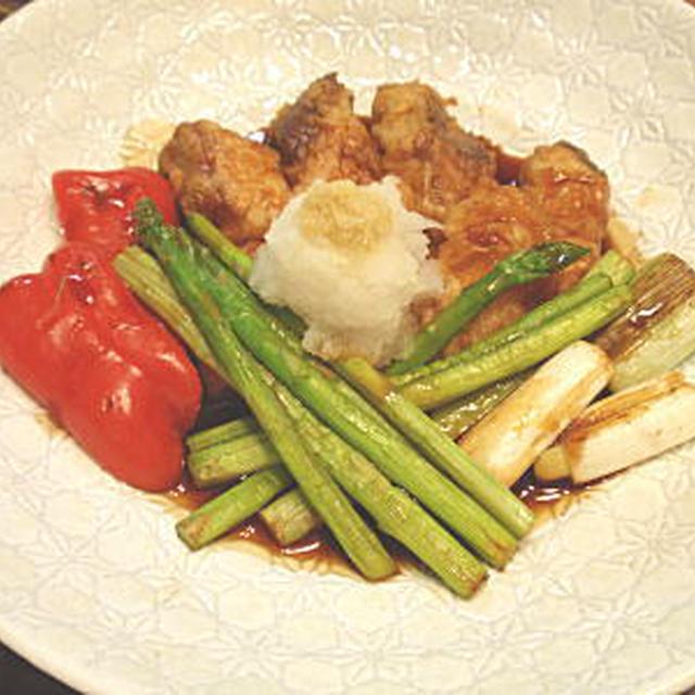 魚と野菜の甘酢ソース(レシピ付)