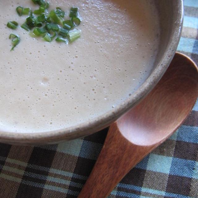 ヘルシー蓮の実のポタージュスープ