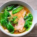 ♡包丁要らずde超簡単♡ハムとレタスの春雨スープ♡【#時短#おかずスープ#連載】