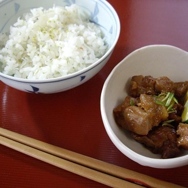 阿波尾鶏のさっぱりすだち酢煮/一応エヴァQアスカ弁です