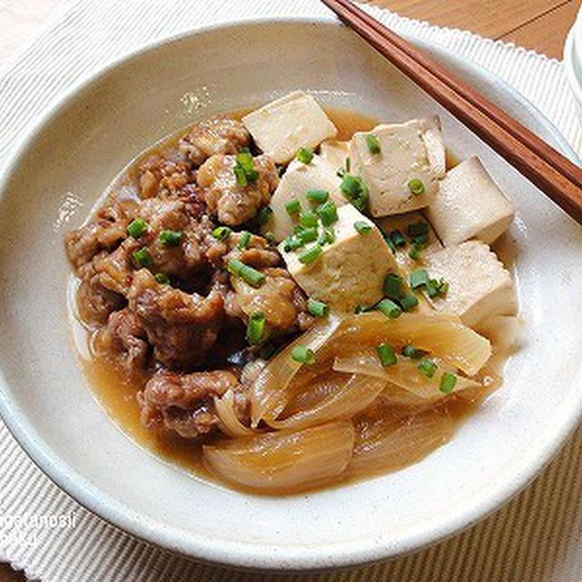 簡単角煮豆腐♪