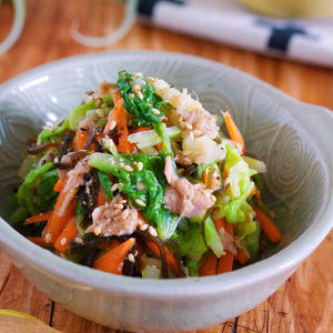 15分以内で作れちゃう!「白菜×ツナ」のお手軽サラダレシピ