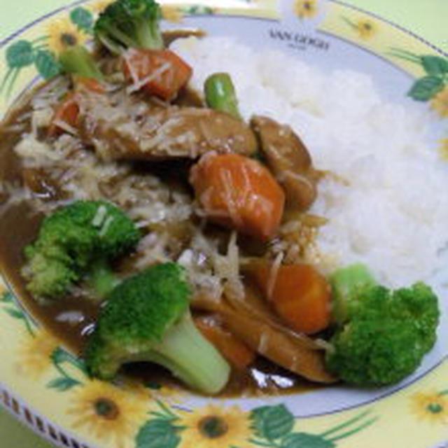 ゴロゴロ野菜カレー