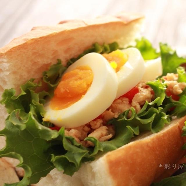 ガパオ風サンドイッチ