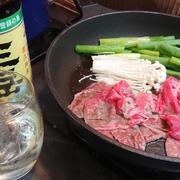 野郎飯流・キッチンドランキング立ち食いすき焼き