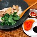 ストウブ14cmで一人分の海南鶏飯(チキンライス)を美味しく作る