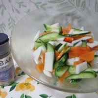 きゅうりの秋サラダ