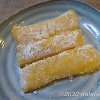 【レシピ】秋田の郷土菓子「バター餅」切り餅でつくる、しっとり甘い和スイーツ