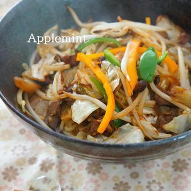 濃厚味が魅力の肉野菜炒めラーメン