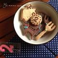 サクサク簡単型抜きクッキー♡水風船で遊ぶぜ!